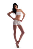 Woman in shorts Stock Image