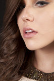 Woman side face Stock Photo