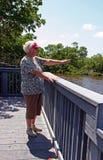 Woman sightseeing Royalty Free Stock Photos