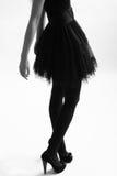 Woman silhouette Royalty Free Stock Photo