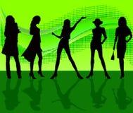 Free Woman Silhouettes - Vector Stock Photos - 4154203
