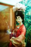 The woman silk figurines xian Stock Photography