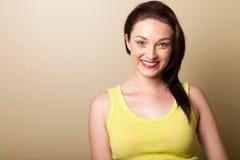 Woman simple portrait Stock Images
