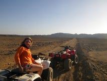 ATV riding Stock Photography