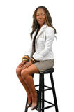 Woman Sitting Royalty Free Stock Photos