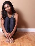 Woman Sitting Royalty Free Stock Photo