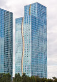 Modern residential complex Grand Alatau in Astana. Kazakhstan Stock Images