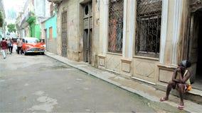 Cuba, Havana center city stock photo