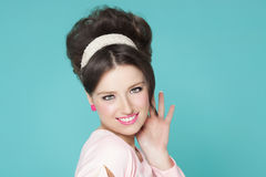 Woman Sixties Style Royalty Free Stock Image