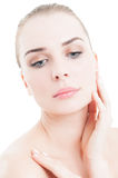 Woman skin care concept Stock Image