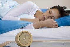 Woman Sleeing Stock Image