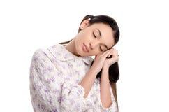 Woman sleeping. Stock Image