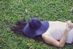 Woman sleeping Stock Photography
