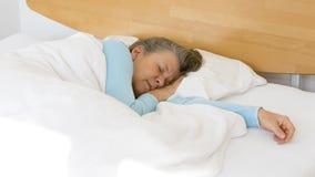 Woman sleeping Royalty Free Stock Photos