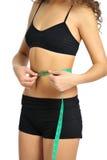 Woman slim body Royalty Free Stock Photography