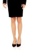 Woman slim legs in high heels Stock Image