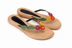 Woman slipper royalty free stock photo