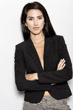 Woman in smart business suit Stock Image