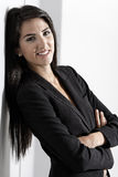 Woman in smart business suit Stock Photography
