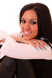 Woman smile Royalty Free Stock Image