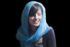 Woman smile Stock Image