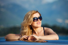 Woman&smile-21 Lizenzfreie Stockfotografie
