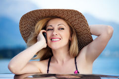 Woman&smile-3 Стоковые Фотографии RF