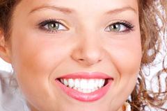 Woman Smile Royalty Free Stock Photos