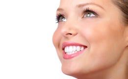 Woman smile Royalty Free Stock Photo