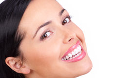 Woman smile Royalty Free Stock Images