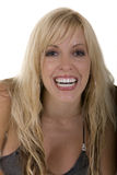 Woman with smile. Woman with beautiful healthy smile Royalty Free Stock Photo