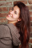 Woman with a smile Royalty Free Stock Photo
