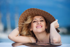 Woman&smile-1 Royalty Free Stock Photo