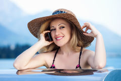 Woman&smile-6 Royalty Free Stock Images