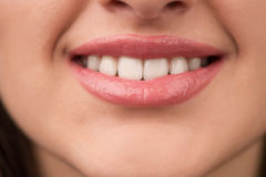 Woman smile. Royalty Free Stock Images