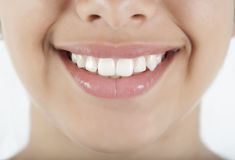 Woman smile and teeth Stock Photo
