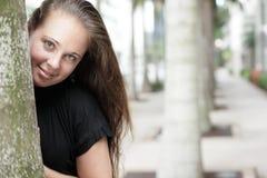 Woman smiling Stock Photos