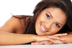 Woman smiling Royalty Free Stock Images
