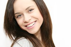 Woman smiling Royalty Free Stock Photos