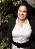Woman smiling Stock Photo