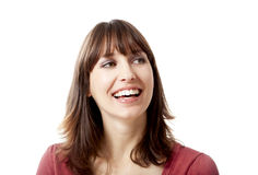 Woman smiling Royalty Free Stock Photo