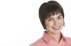 Woman Smiling at Camera Stock Image