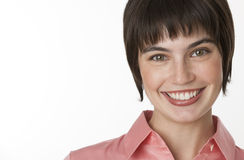 Woman Smiling at Camera Stock Photography