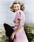 Woman smiling looking vivacious Royalty Free Stock Photo