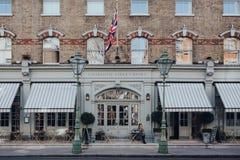 Free Woman Smoking Outside Charlotte Street Hotel In Soho, London, UK Royalty Free Stock Photography - 177167827
