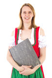 Woman with some documents Stock Image