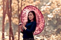 Woman southeast asia Royalty Free Stock Photos