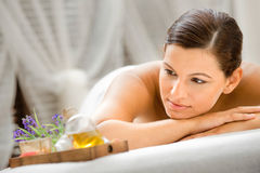 Woman in Spa Royalty Free Stock Photo