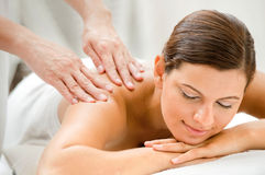 Woman in Spa Royalty Free Stock Image