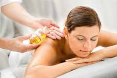 Woman in Spa Stock Photography